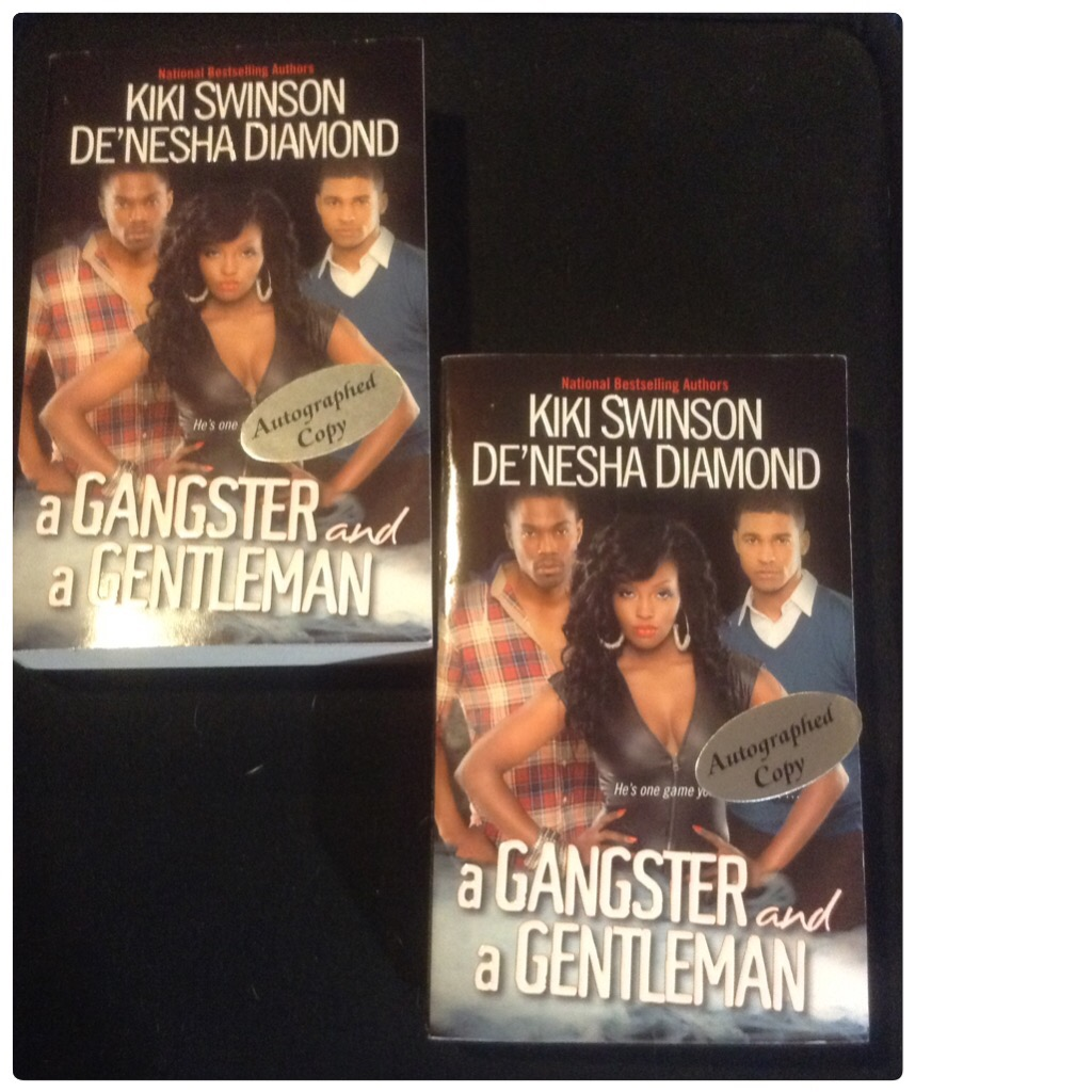 a gangster and a gentleman by kiki swinson and de nesha diamond